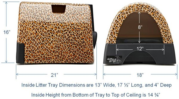 kitty a go-go litterbox dimensions