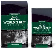 World's Best Cat Litter Forest Scented Clumping Formula