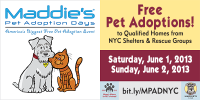 Maddie's® Pet Adoption Days Goes Nationwide