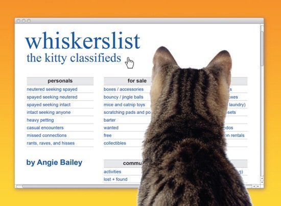 Cover of Whiskerslist: The Kitty Classifieds