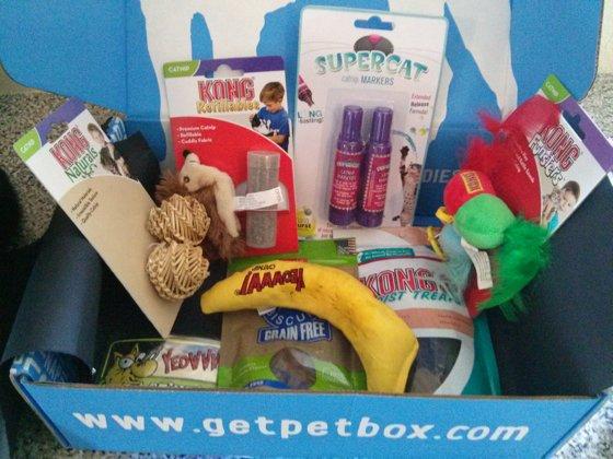 Petbox contents